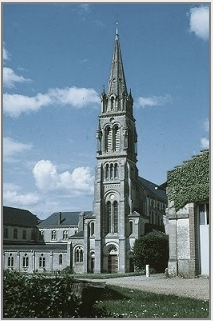 Abbey of La Trappe. Photograph of the present-day abbey church, built in the nineteenth century. Photo © Ronald Davis