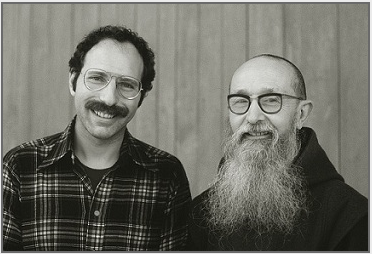 Stanley Roseman and Frère Elie, 1978, Abbey of La Trappe, France. © Photo by Ronald Davis